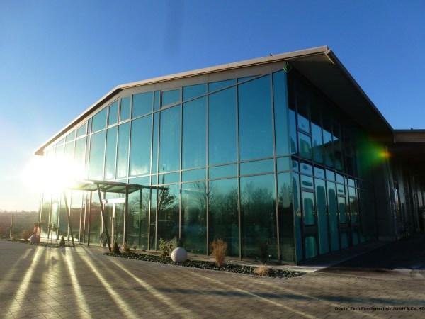 Energieplushalle Fech Fenstertechnik